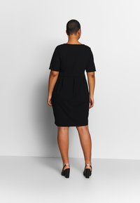 Anna Field Curvy - BASIC JERSEY DRESS - Jerseyjurk - black - 2