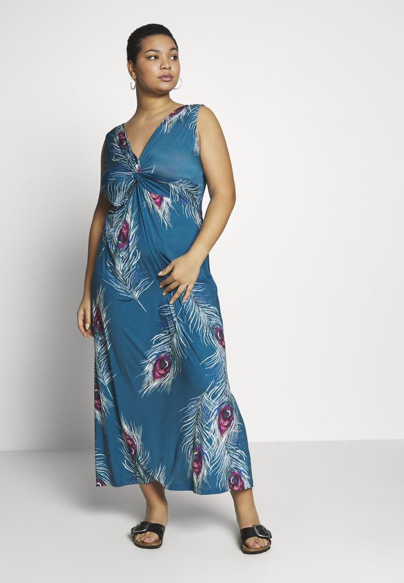 Anna Field Curvy - Maxi dress - turquoise