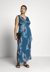 Anna Field Curvy - Maxi dress - turquoise - 2