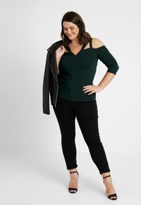 Anna Field Curvy - Long sleeved top - scarab - 1