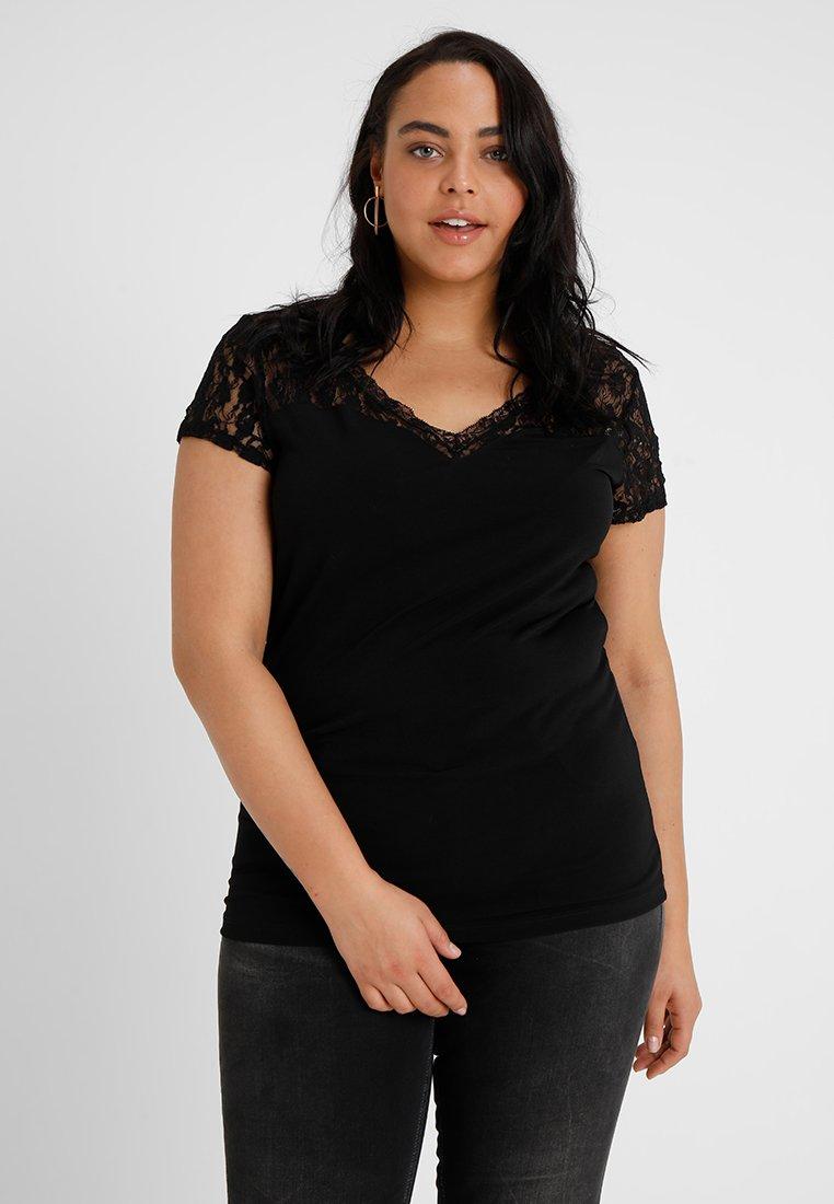 Anna Field Curvy - T-Shirt print - black
