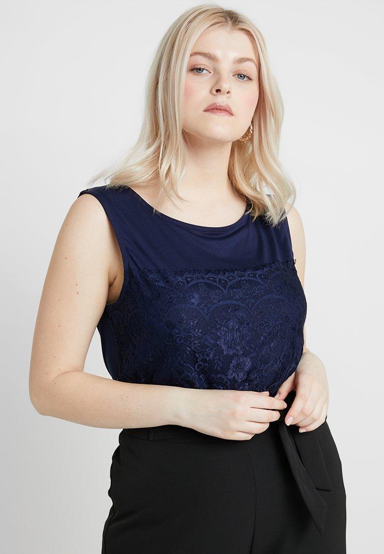 Anna Field Curvy - Bluse - dark blue