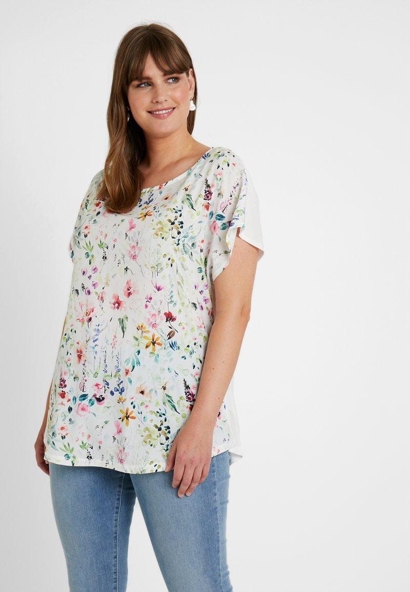 Anna Field Curvy - Bluse - white/multicoloured