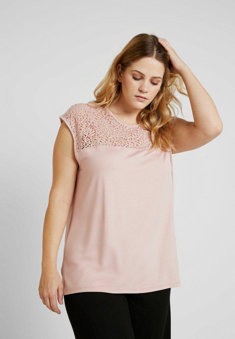 Anna Field Curvy - T-Shirt print - pale mauve