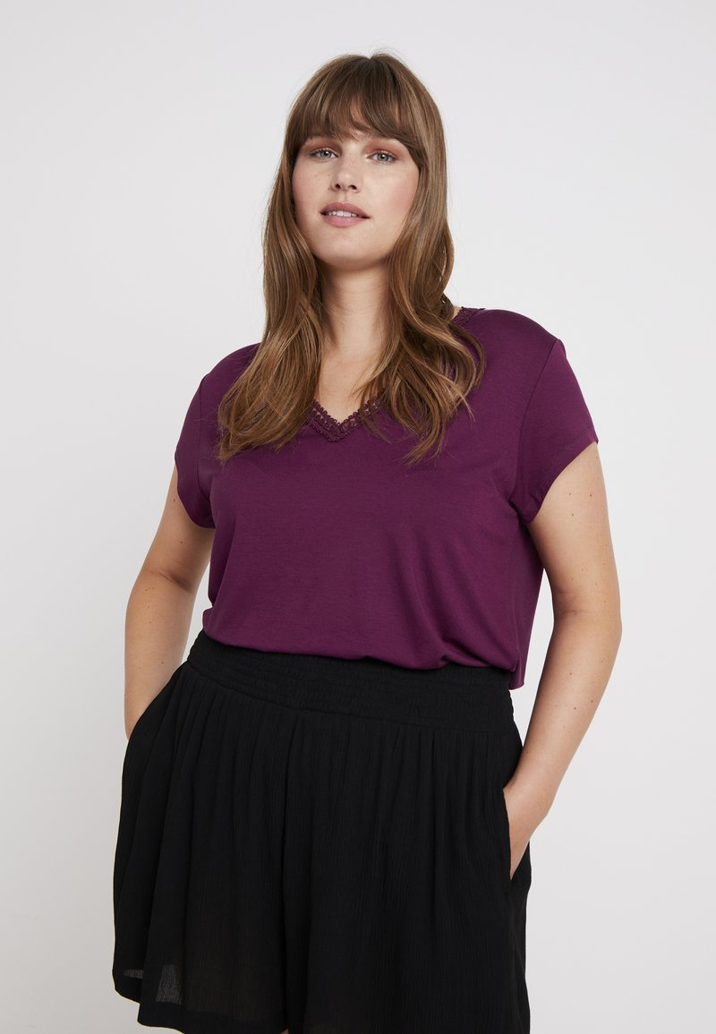 Anna Field Curvy - T-shirts print - purple potion