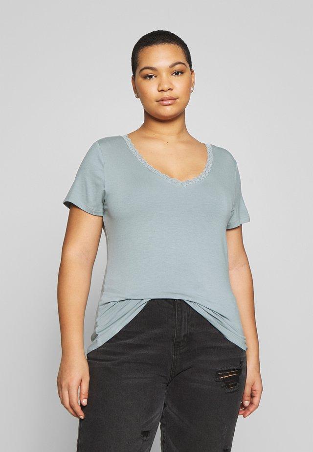 BASIC T-SHIRT - Print T-shirt - abyss
