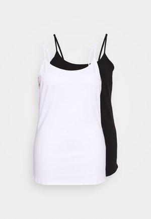 BASIC CAMI TOP - Top - white/black