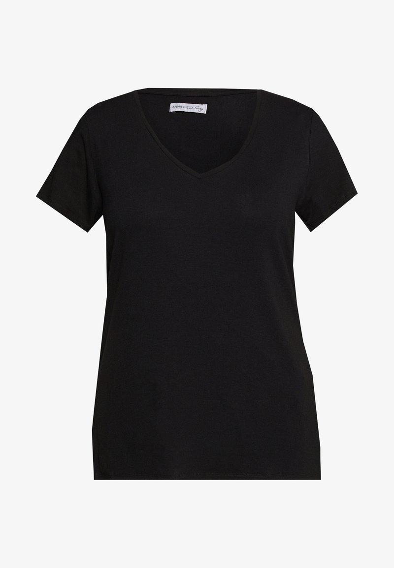 Anna Field Curvy - T-shirts basic - black