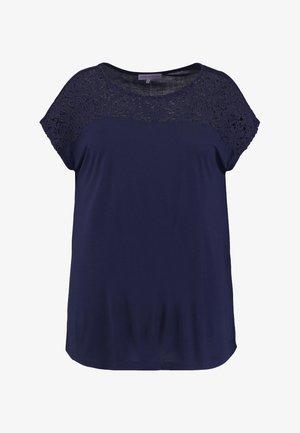 T-shirt z nadrukiem - peacoat