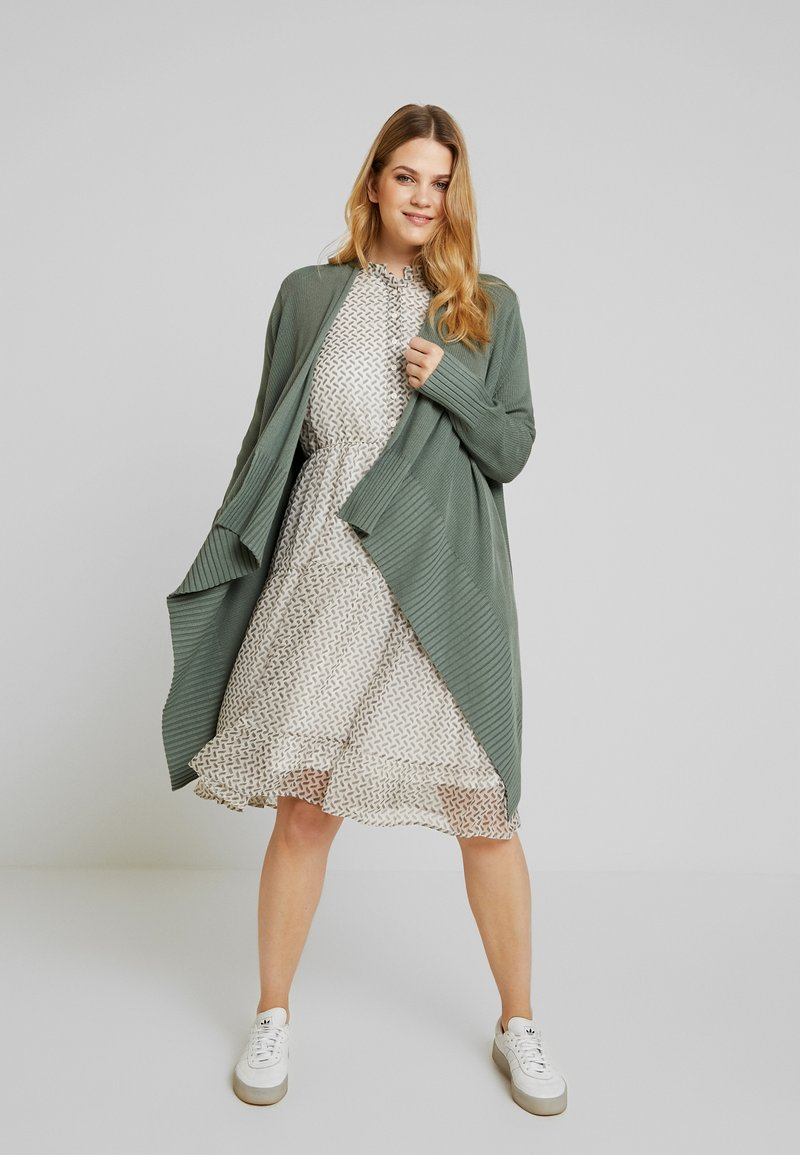 Anna Field Curvy - Cardigan - dark green