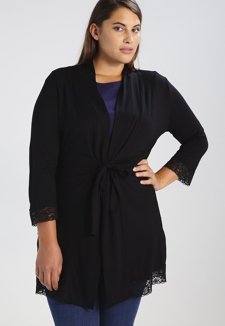 Anna Field Curvy - Cardigan - black