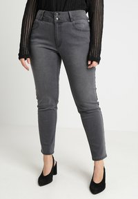 Anna Field Curvy - Slim fit jeans - grey - 0