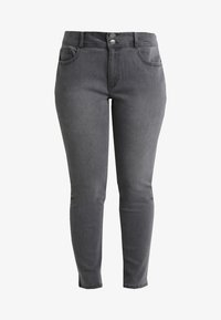 Anna Field Curvy - Slim fit jeans - grey - 4