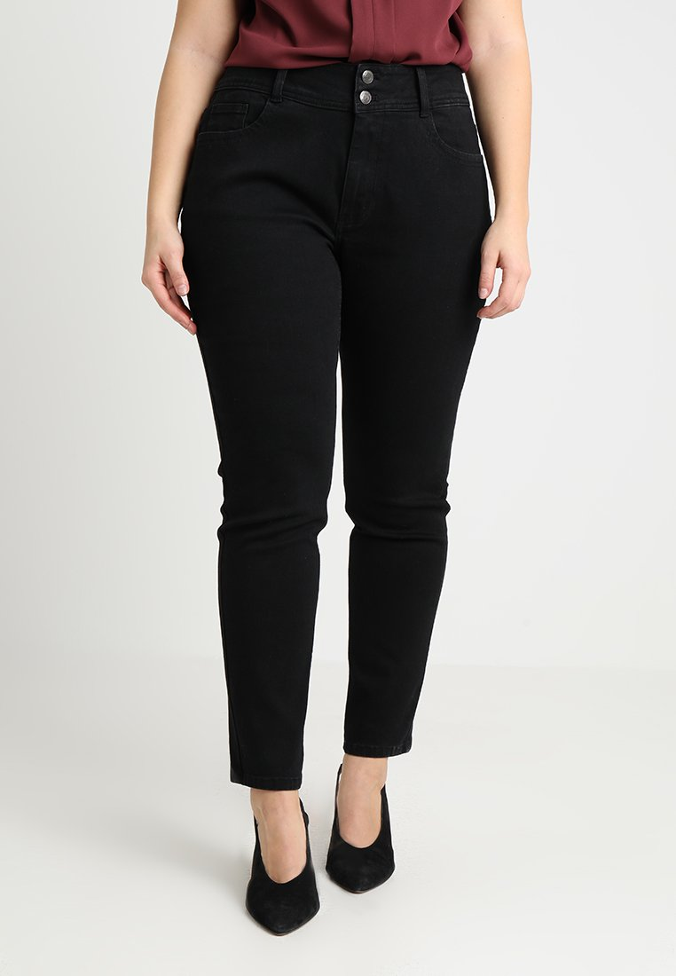 Anna Field Curvy - Slim fit jeans - black
