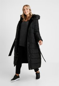 Anna Field Curvy - Winter coat - black - 1