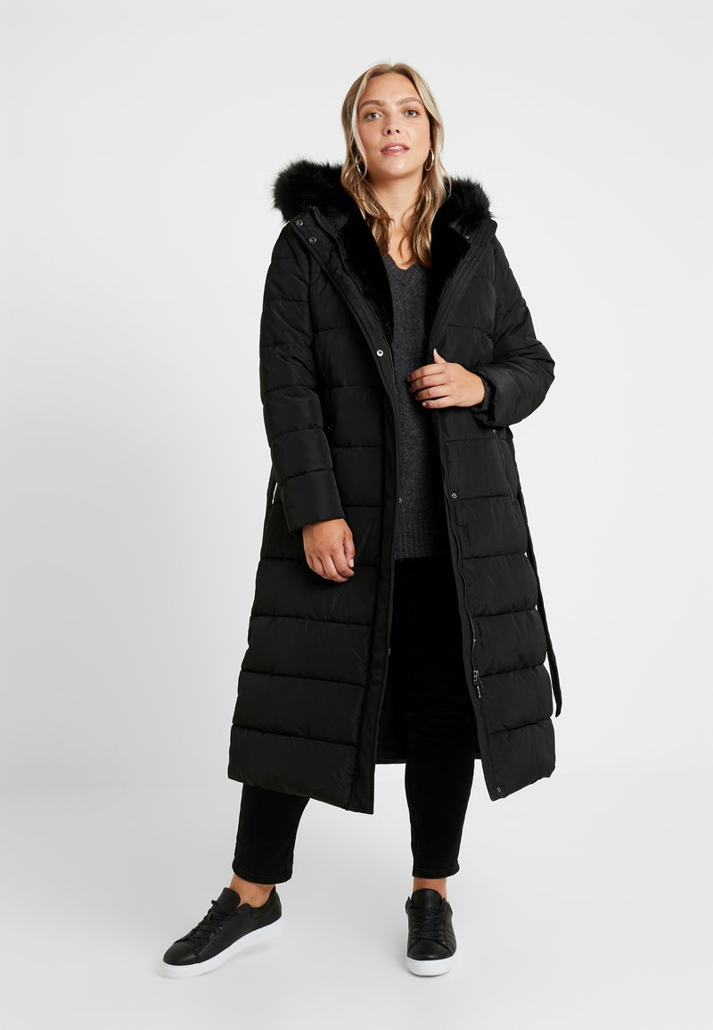 Anna Field Curvy - Winter coat - black