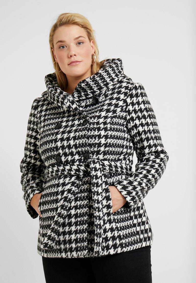 Anna Field Curvy - Lehká bunda - white/black