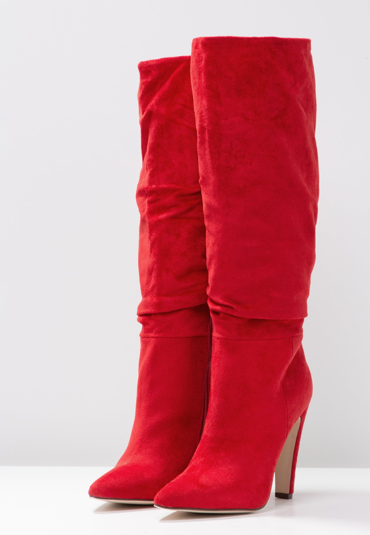 Call CapucciBottes Talons Spring Red It À Hauts 3A4LqRc5Sj