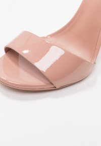 Call it Spring - DELLMAR VEGAN - Sandály na vysokém podpatku - light brown - 2
