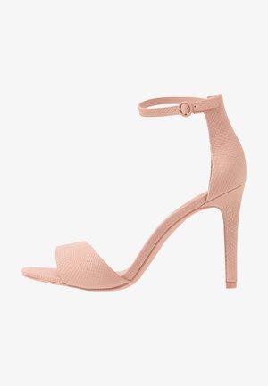 DELLMAR VEGAN - Korolliset sandaalit - light pink