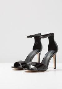 Call it Spring - DELLMAR VEGAN - Sandály na vysokém podpatku - black - 4