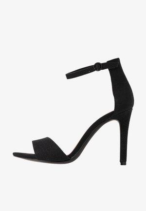 DELLMAR VEGAN - Højhælede sandaletter / Højhælede sandaler - black