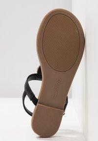 Call it Spring - JADENE - Sandály s odděleným palcem - black - 4