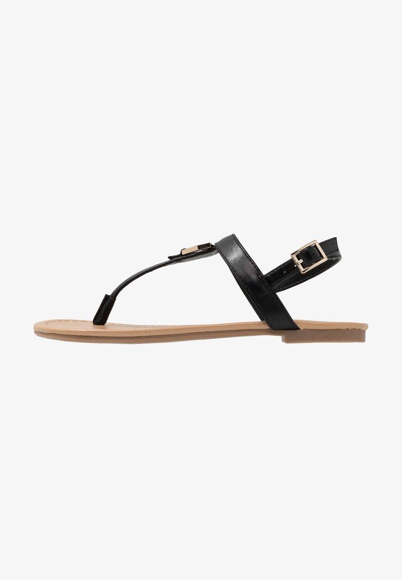 Call it Spring - JADENE - Sandály s odděleným palcem - black