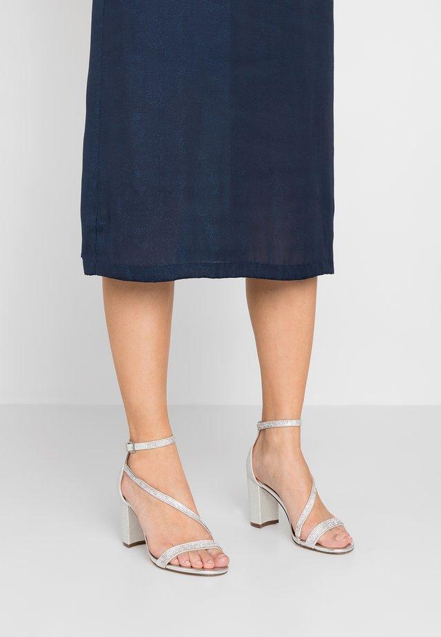 AZARIA - High heeled sandals - silver