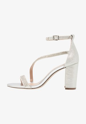 AZARIA - High heeled sandals - silver
