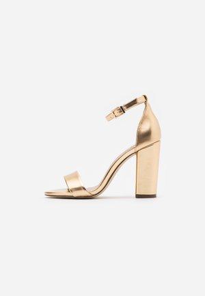 TAYVIA  - High heeled sandals - gold