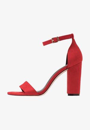 TAYVIA  - Sandales à talons hauts - bright red