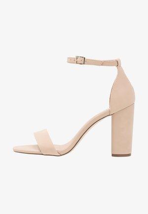 TAYVIA  - Sandály na vysokém podpatku - bone
