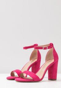 Call it Spring - TAYVIA  - Sandaler med høye hæler - fuchsia - 4
