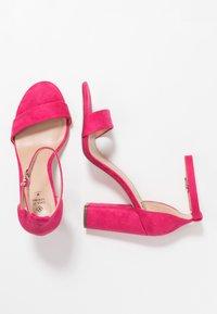 Call it Spring - TAYVIA  - Sandaler med høye hæler - fuchsia - 3