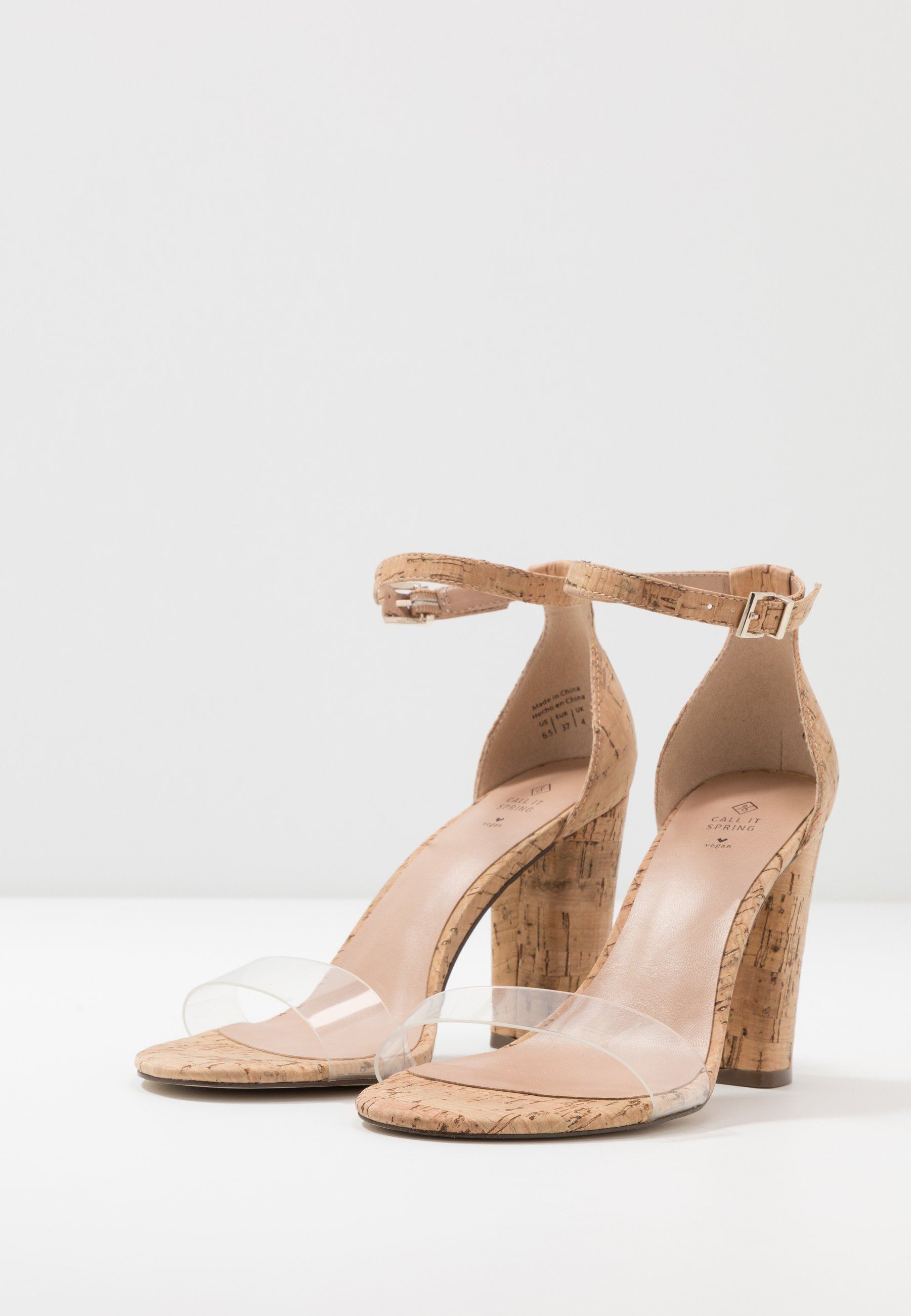 Call it Spring TAYVIA - High heeled sandals - natural