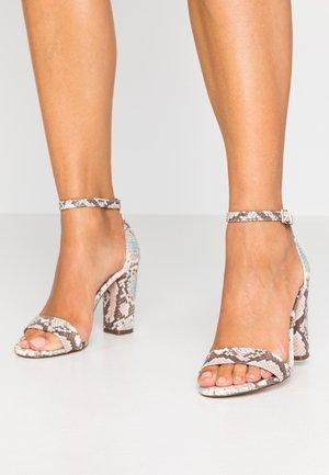 TAYVIA  - High heeled sandals - light pink