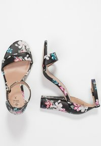 Call it Spring - TAYVIA  - Sandalen met hoge hak - black/multicolor - 3