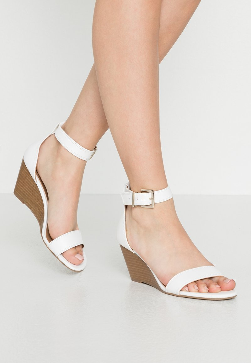Call it Spring - ABAUSSA - Wedge sandals - white