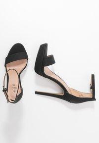 Call it Spring - WESTKAAP - Korolliset sandaalit - black - 3