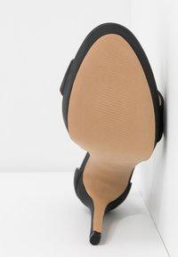 Call it Spring - WESTKAAP - Korolliset sandaalit - black - 6