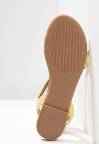 Call it Spring - MADONA - Sandals - light yellow - 6