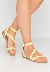 Call it Spring - MADONA - Sandals - light yellow - 0