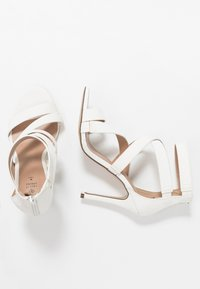 Call it Spring - KURISCHE - Sandály na vysokém podpatku - white - 3