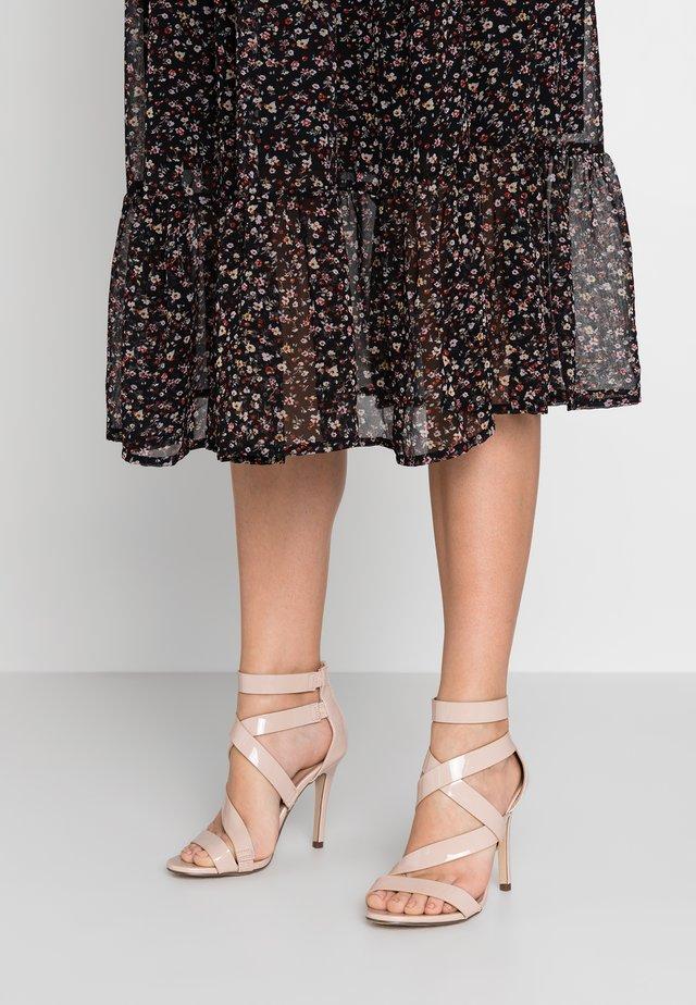 KURISCHE - High heeled sandals - bone