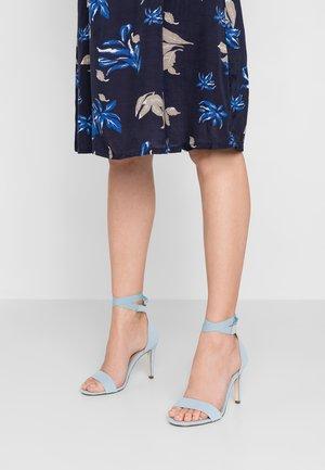 ISSEY - High heeled sandals - light blue