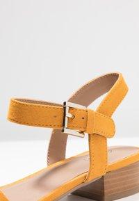 Call it Spring - COOLMINE - Sandals - dark yellow - 2