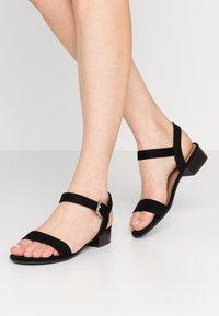 Call it Spring - COOLMINE - Sandaalit nilkkaremmillä - black - 0