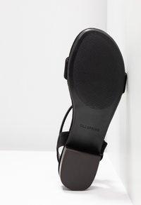 Call it Spring - COOLMINE - Sandaalit nilkkaremmillä - black - 6