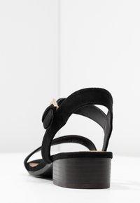 Call it Spring - COOLMINE - Sandaalit nilkkaremmillä - black - 5